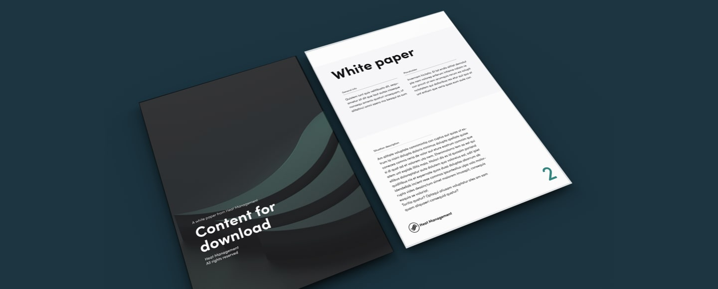 Heat Management white paper header