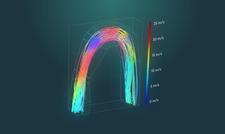 CDF simulation illustration