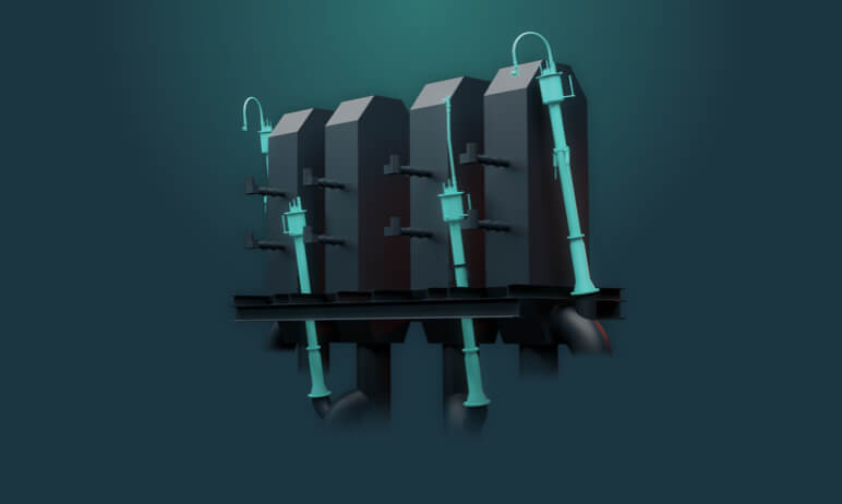 marine boiler illustration